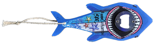 B/O MDF SHARK SHAPE VITAMIN SEA......................  each (ea) * 60 *CASE OF 60