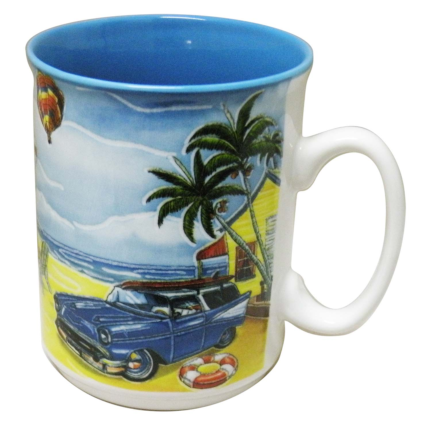 MUG CERAMIC/BLUE-CAR/BALLOON * UOM: PC * Minimum Order:4