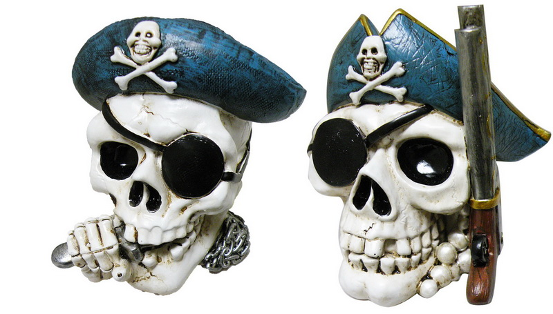 BANK POLY PIRATE SKULL * UOM: each (ea)* Minimum Order: 4