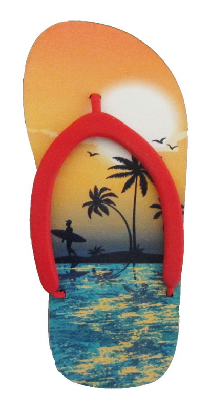 MAGNET POLY SANDAL- SUNSET * UOM: each (ea)* Minimum Order: 24