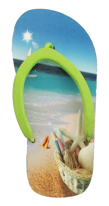 MAGNET POLY SANDAL-BEACH/SAN * UOM: each (ea)* Minimum Order: 24
