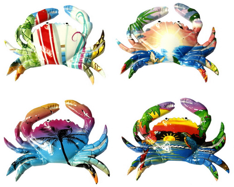 MAGNET POLY CRAB OCEAN 2/S * UOM: each (ea) * Minimum Order:12