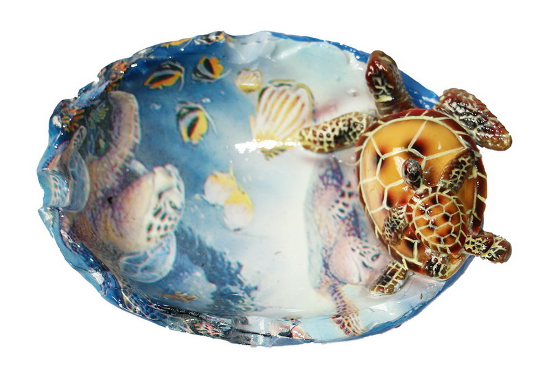 ASHTRAY POLY TURTLE ROUND * UOM: each (ea)* Minimum Order: 4