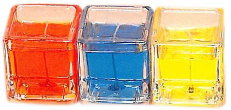 c/o-CANDLE-GelWax-Sq Glass S * UOM: each (ea) * Minimum Order: 0.5 * CASE OF 8