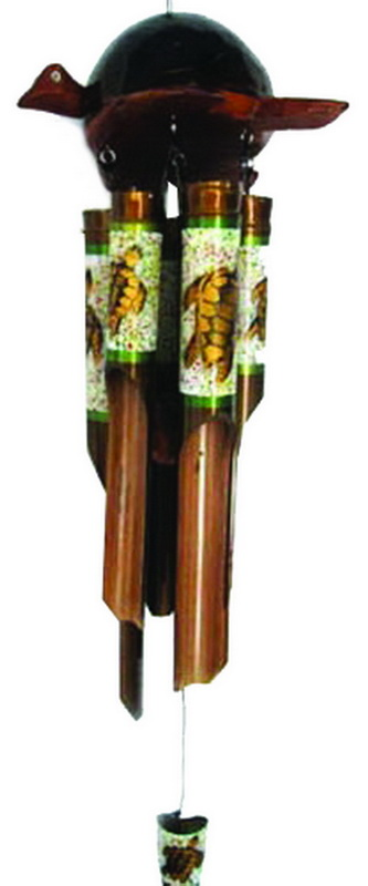 CHIME BAMBOO-COCO TURTLE 40C * UOM: each (ea) * Minimum Order:4