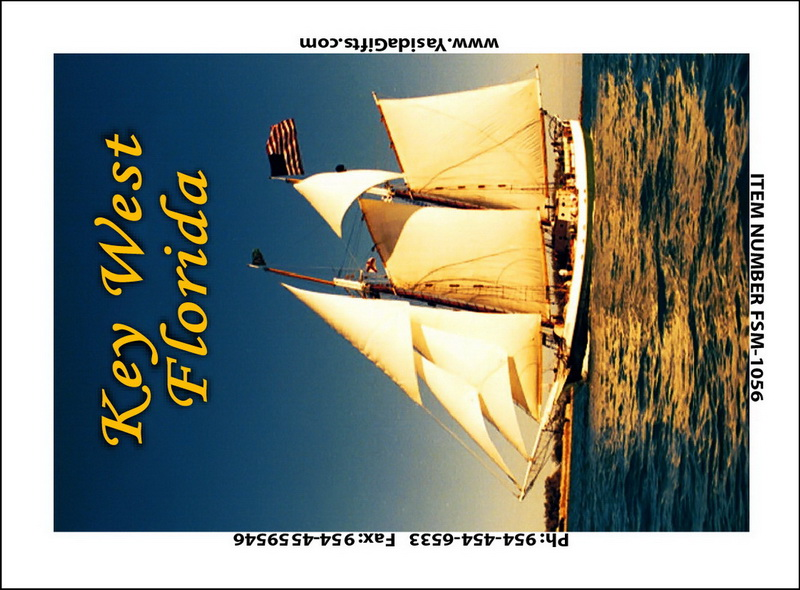 SAILBOAT FLAT MAGNET 12PC * UOM: dozen (dz)* Minimum Order: 1
