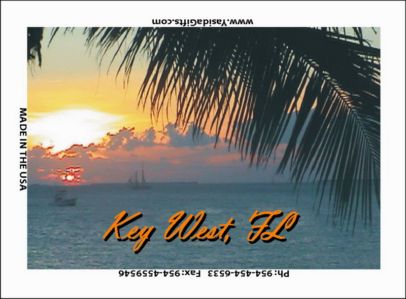 SUNSET FLAT MAGNET 12PC * UOM: dozen (dz)* Minimum Order: 1