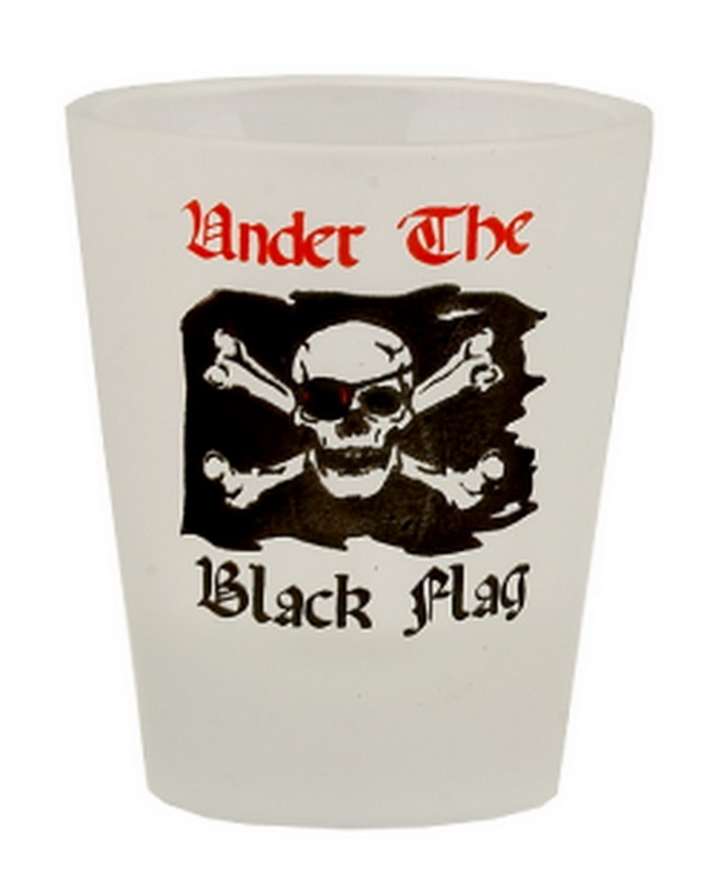 UNDER BLACK FLAG SHOT GLASS 12PC * UOM: * Minimum Order: