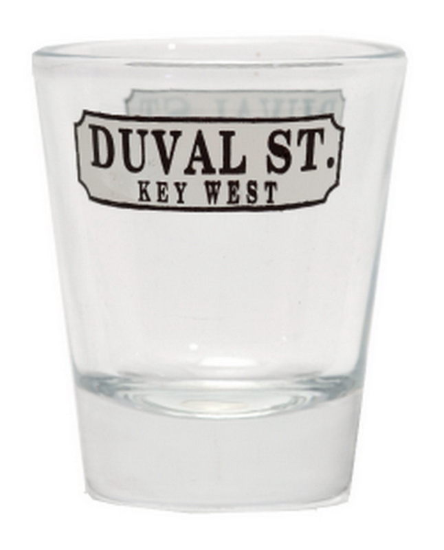 DUVAL STREET SHOT GLASS 12PC * UOM: * Minimum Order: