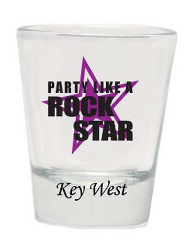 PARTY LIKE A ROCK STAR SHOT GLASS 12PC * UOM: * Minimum Order: