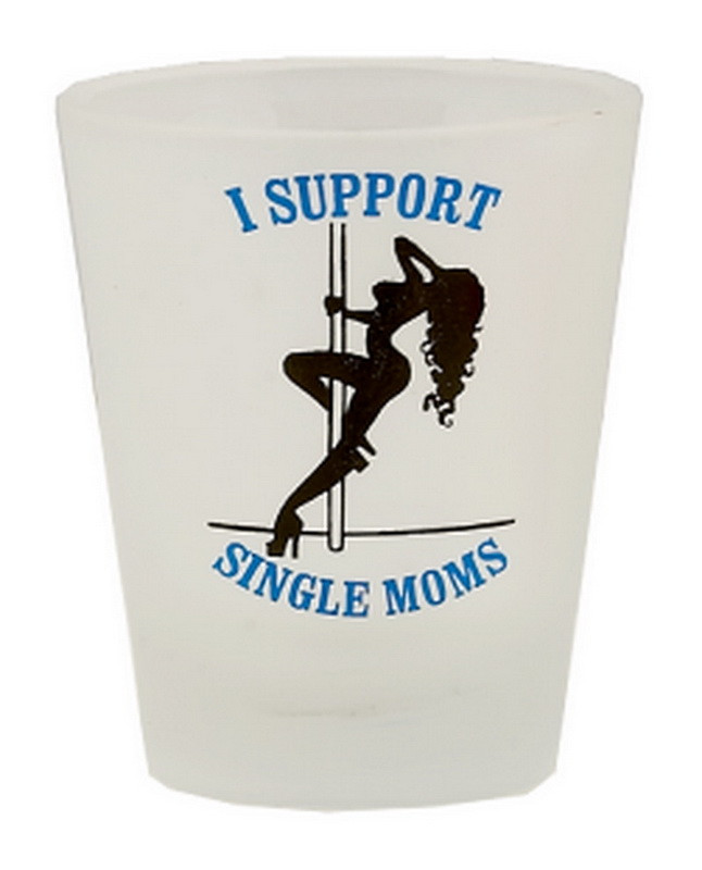 SUPPORT SINGLE MOMS SHOT GLASS 12PC * UOM: * Minimum Order: