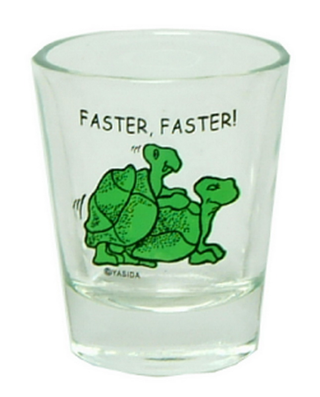 FASTER FASTER TURTLE SHOT GLASS 12PC * UOM: * Minimum Order: