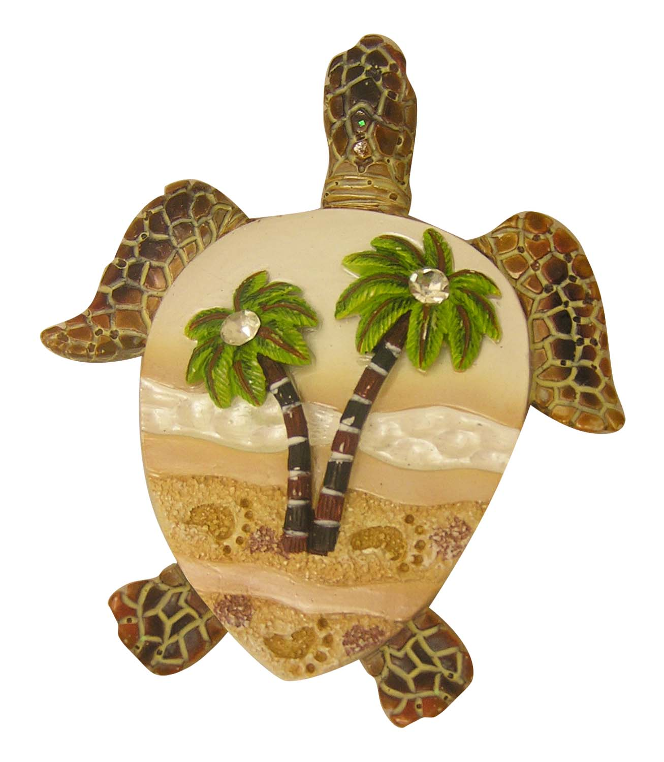MAGNET POLY-TURTLE PALMS/FTT * UOM: PC * Minimum Order:12