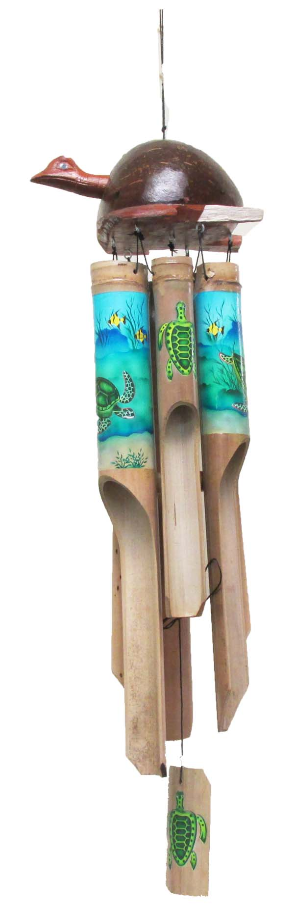 CHIME BAMBOO TURTLE TOP 40CM * UOM: PC * Minimum Order:4