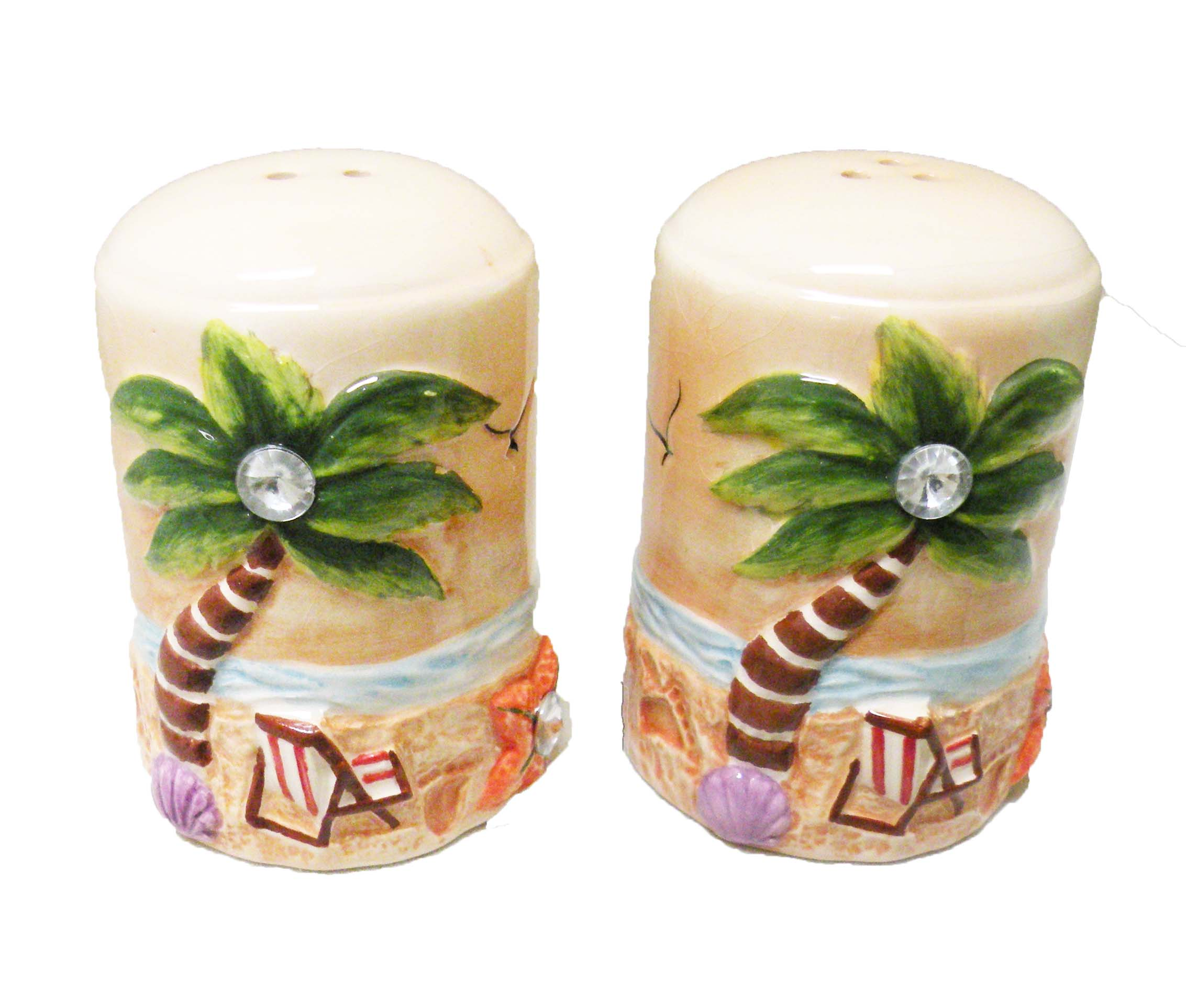 SALT AND PEPPER_TAN-PT/CHAIR W/DIAMOND * UOM: SET * Minimum Order:6