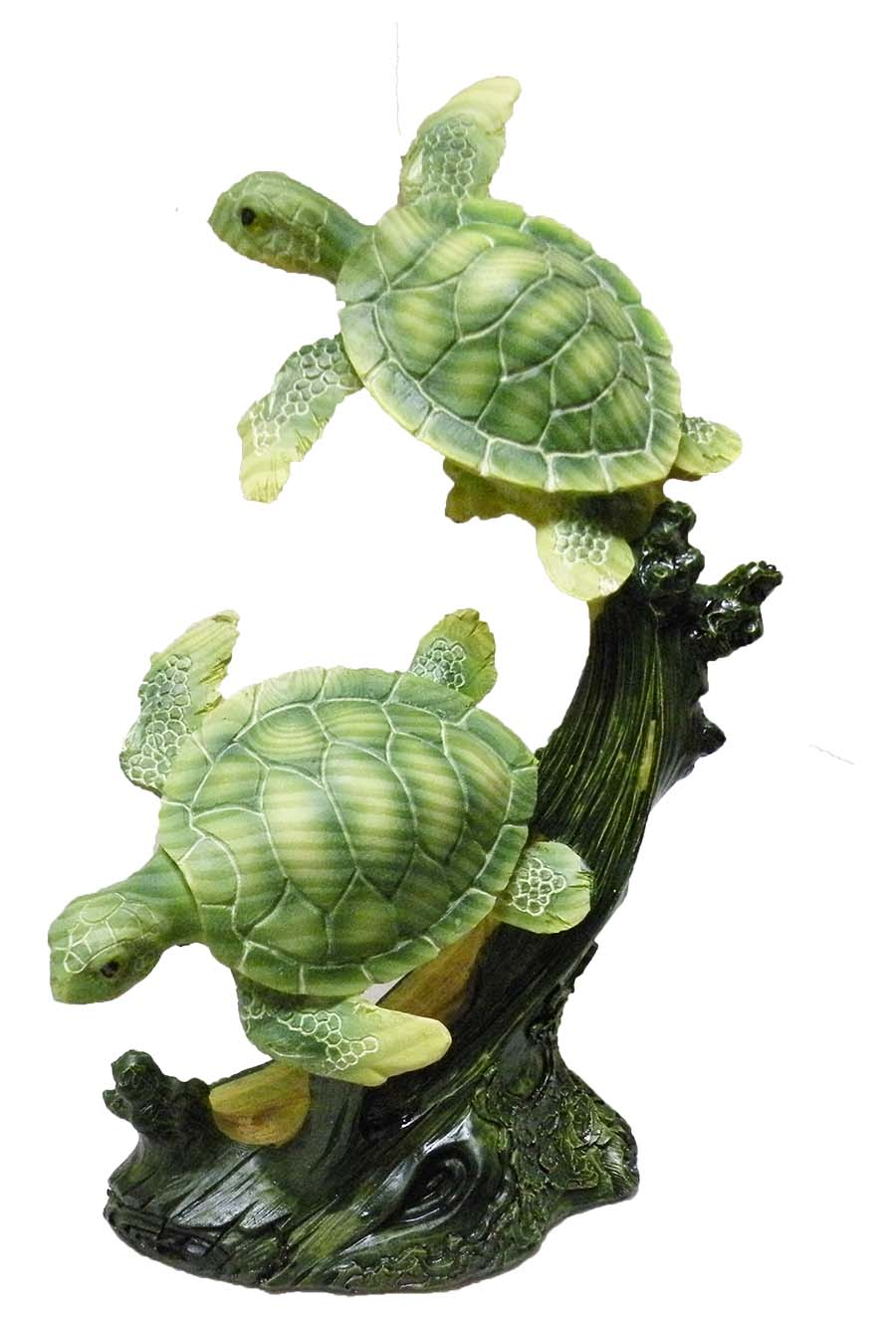 FIG POLY TURTLE WD EFFECT 7. * UOM: PC * Minimum Order:4