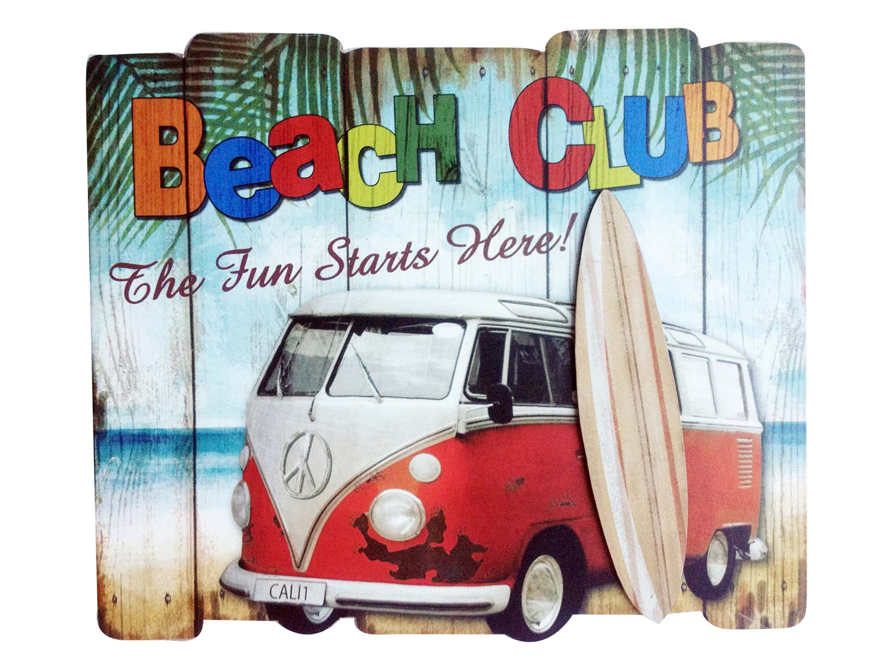 PLAC-WOOD/ BEACH CLUB WB * UOM: pc * Minimum Order:6