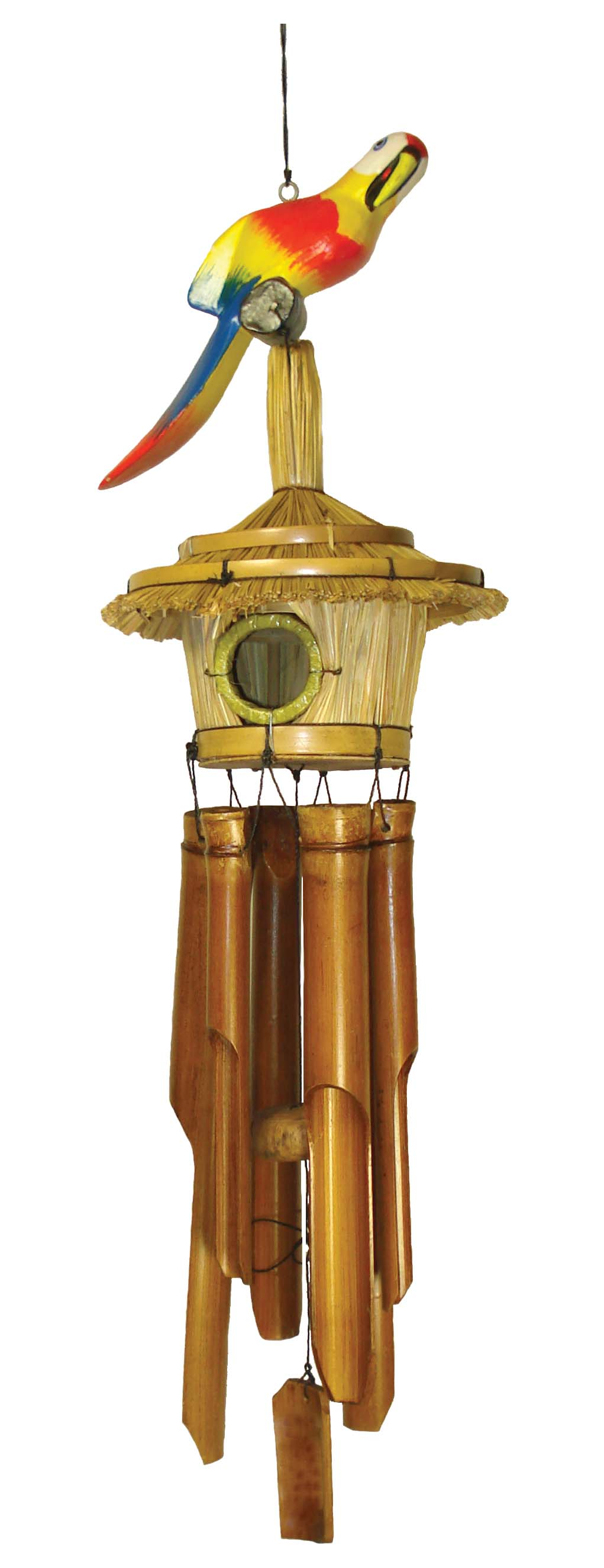 CHIME BAMBOO BIRD HSE-PARROT * UOM: PC * Minimum Order:4