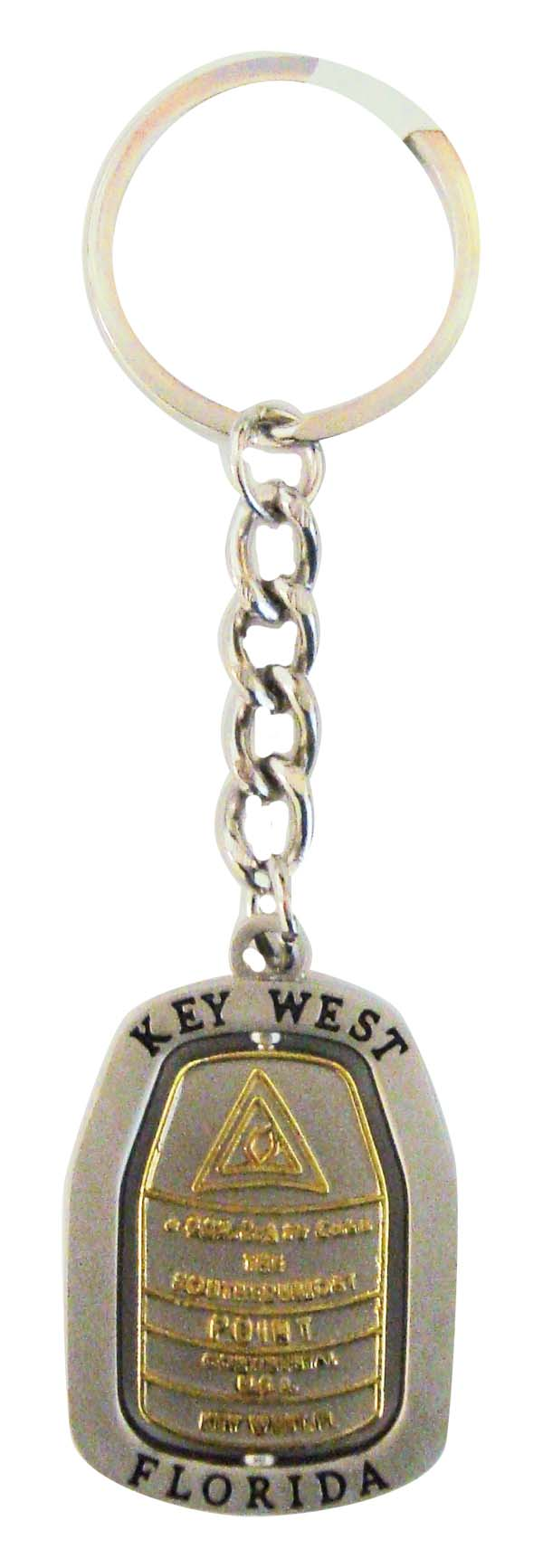 Key Chain METAL-SPIN SOUTHERN BUOY - UOM: DZ - Minimum Order:1