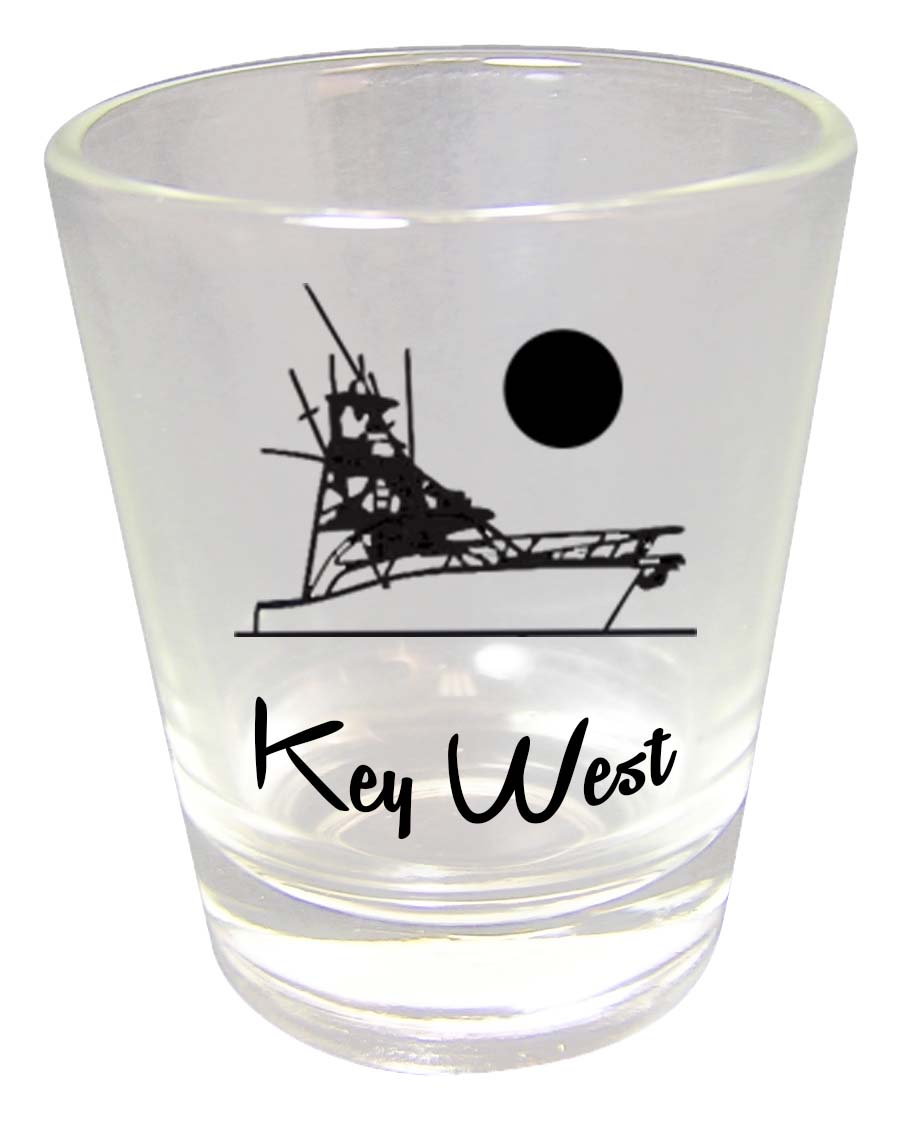 Shot Glass CLEAR CHARTERS - UOM: PC - Minimum Order:48