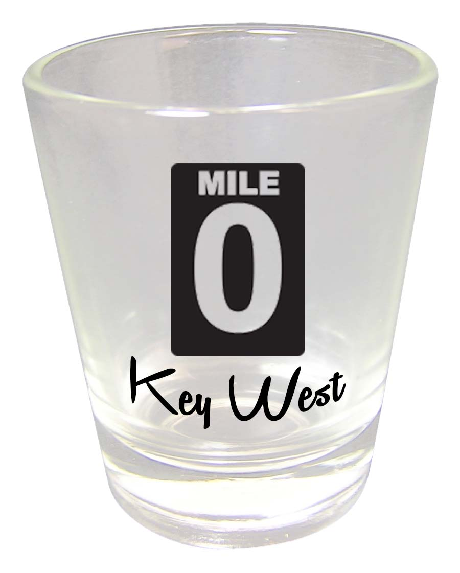 Shot Glass CLEAR MILE ZERO - UOM: PC - Minimum Order:48