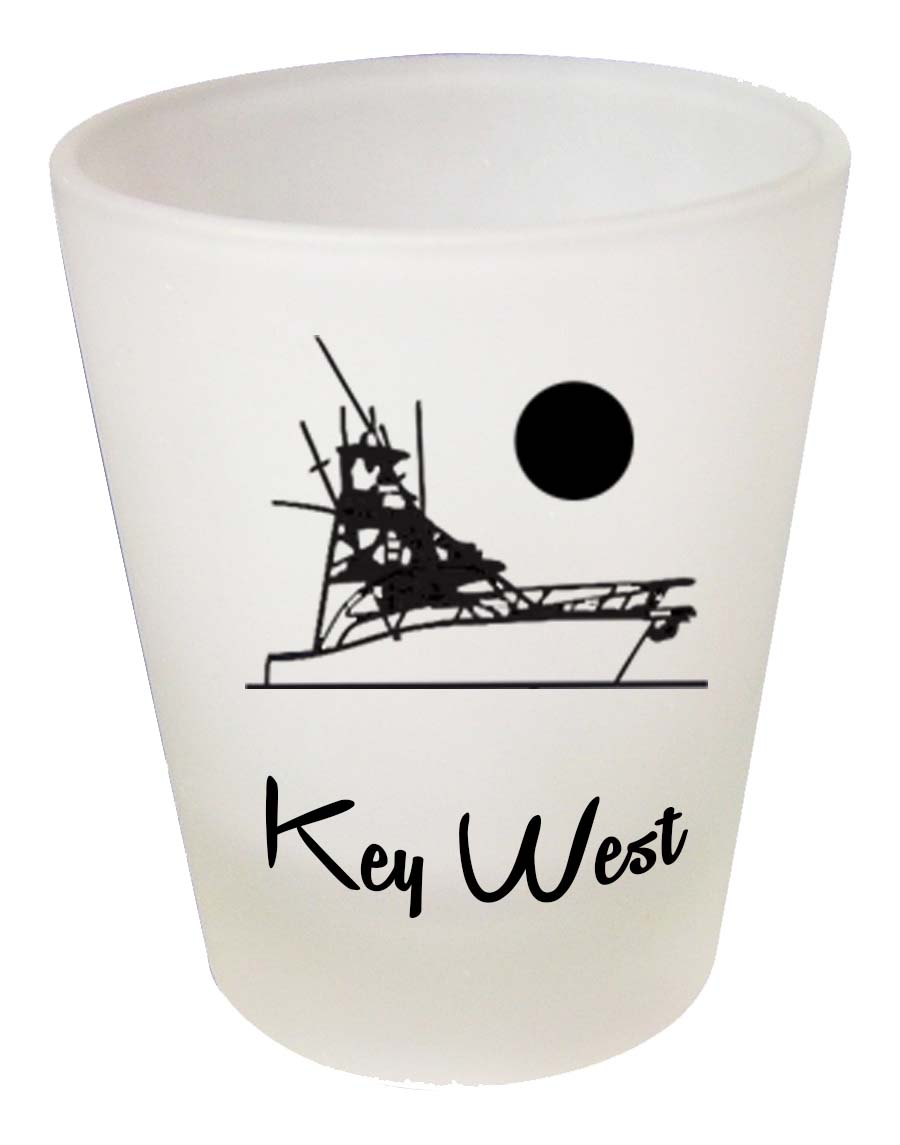 Shot Glass FROSTED CRUISE SHIP - UOM: PC - Minimum Order:48