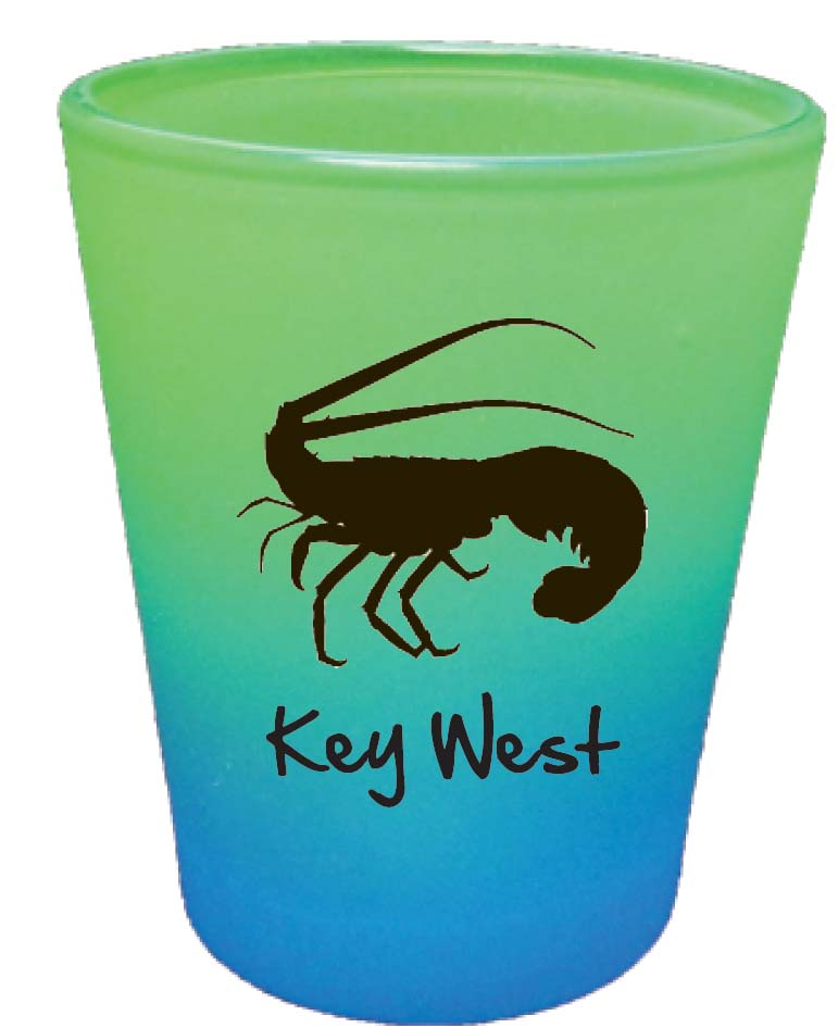 Shot Glass-RNBW CLRS LOBSTER - UOM: DZ - Minimum Order:48