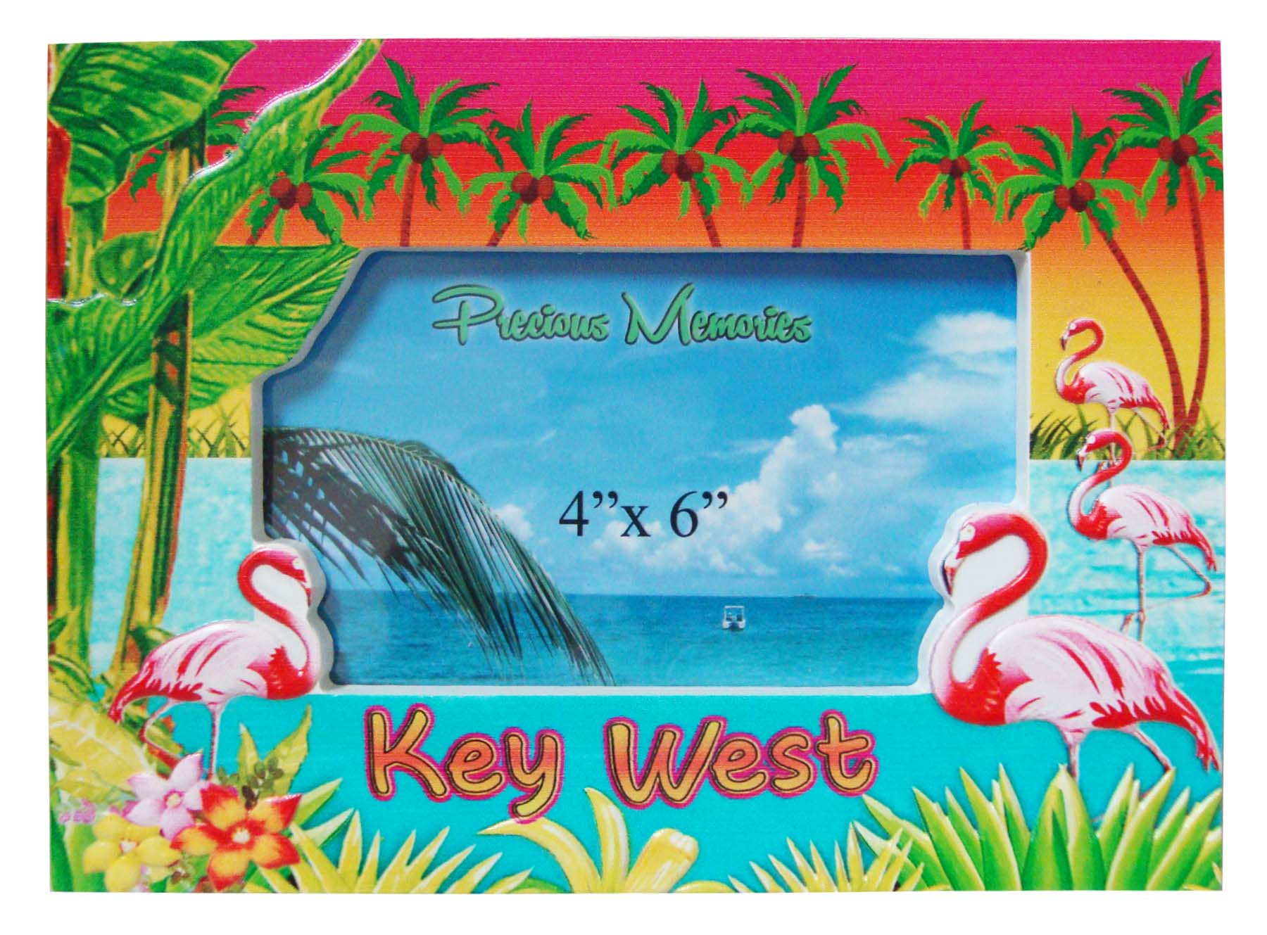 FRAME POLY-DECAL FLAMINGO/PT - UOM: PC - Minimum Order:4