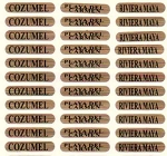 LABEL FLAT SCRN GOLD-FL/MED/ * UOM: SHT * Minimum Order:1