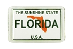 MAGNET ACRYL-FLA LICENSE PLATE * UOM: PC * Minimum Order: 12