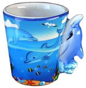 ESPRESSO MUG DOLPHIN HANDLE  each (ea) * 144 *CASE OF 144