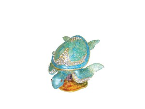 BOX JEWEL PEWTER-TURTLE * UOM: PC * Minimum Order:1