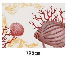 MagnetNET POLY DECAL CORAL 7X5C * UOM: PC * Minimum Order:12