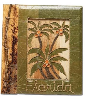ALBUM-Leaf-Green Palm Lg FL * UOM: PC * Minimum Order:4